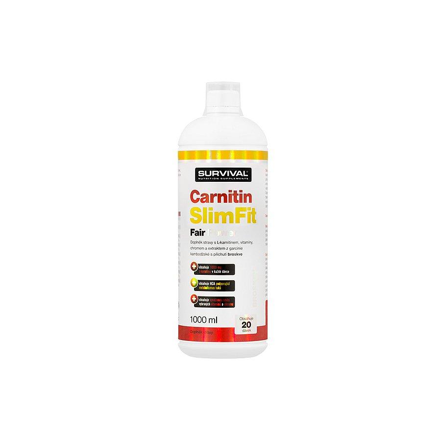 Carnitin SlimFit Fair Power broskev 1000ml