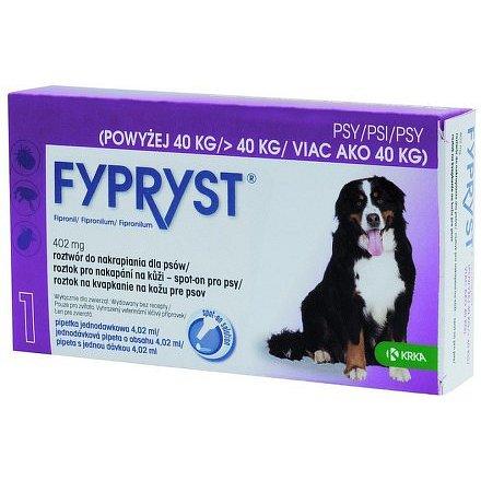 Fypryst 402 mg roztok pro nakapání na kůži – spot-on pro psy