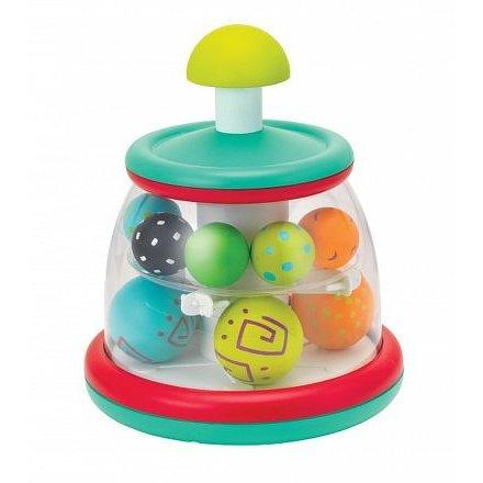 Hrací pult s rotujícími míčky