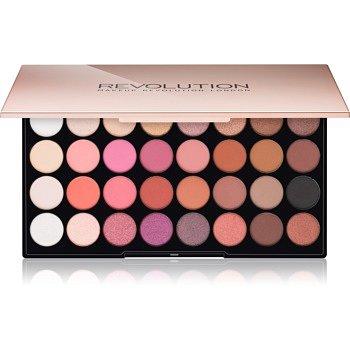Makeup Revolution Flawless 4 paleta očních stínů 32× 0,6 g