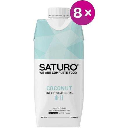 Saturo Coconut 8x 330ml