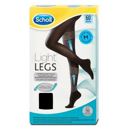 Scholl Light LEGS Kompresní punčochové kalhoty vel.M černé