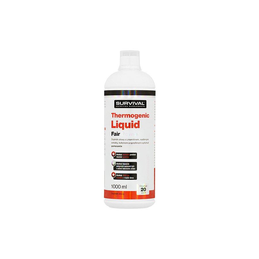 Thermogenic Liquid Fair Power pomeranč 1000 ml