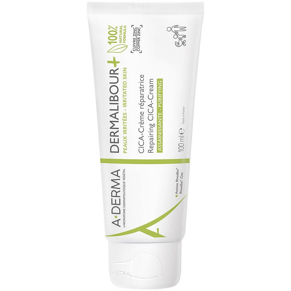 A-DERMA Dermalibour+ Reparační CICA-Krém pro podrážděnou pokožku 100 ml