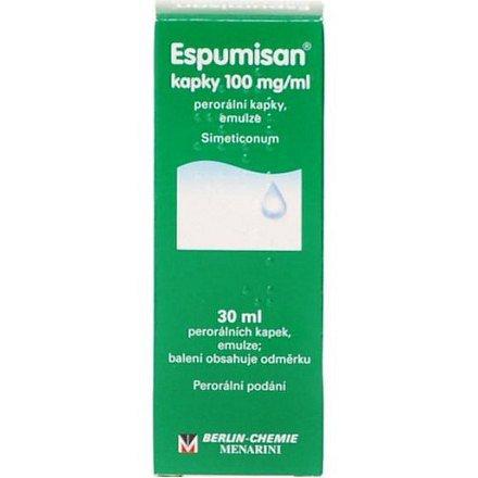 Espumisan kapky 100 mg/ml perorální kapky eml. 1 x 30 ml