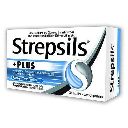 Strepsils Plus orální pastilky  24