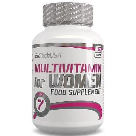 BiotechUSA Multivitamin for Women 60 tbl