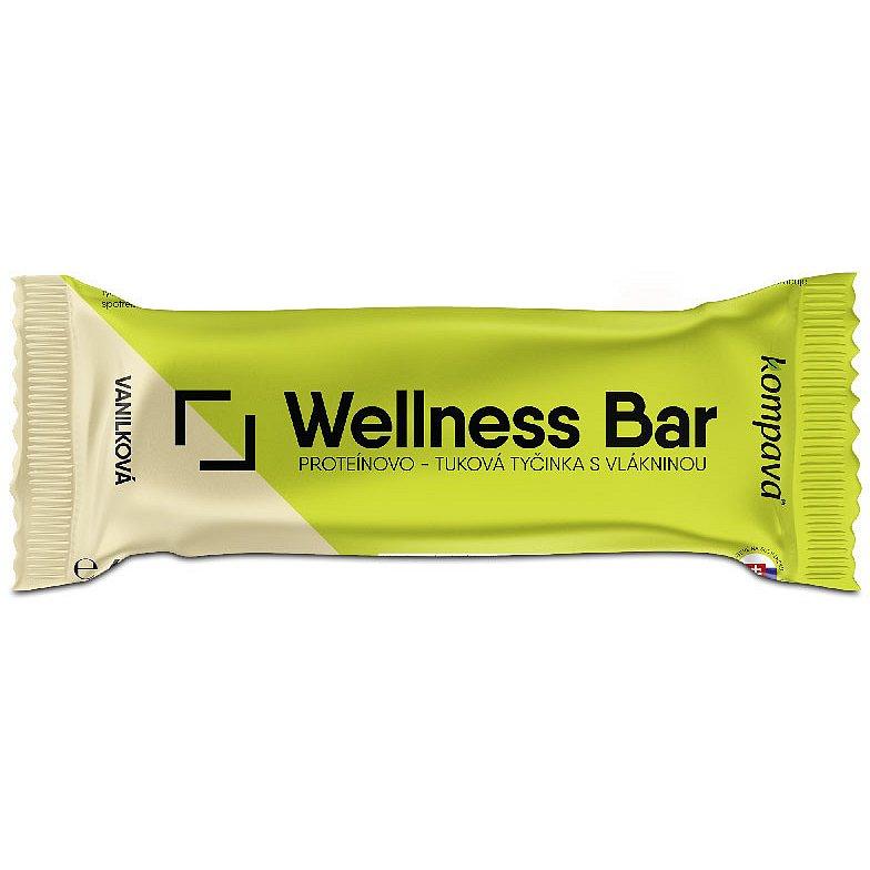 Kompava Wellness bar 60gx21ks -vanilka-mandle