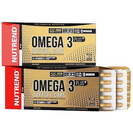 OMEGA 3 PLUS SOFTGEL CAPS, 120 kapslí
