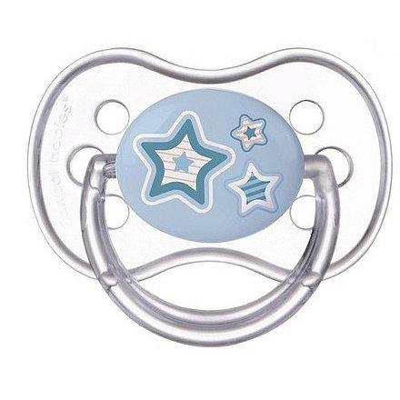 Šidítko 0-6 m silikonové třešinka Newborn Baby