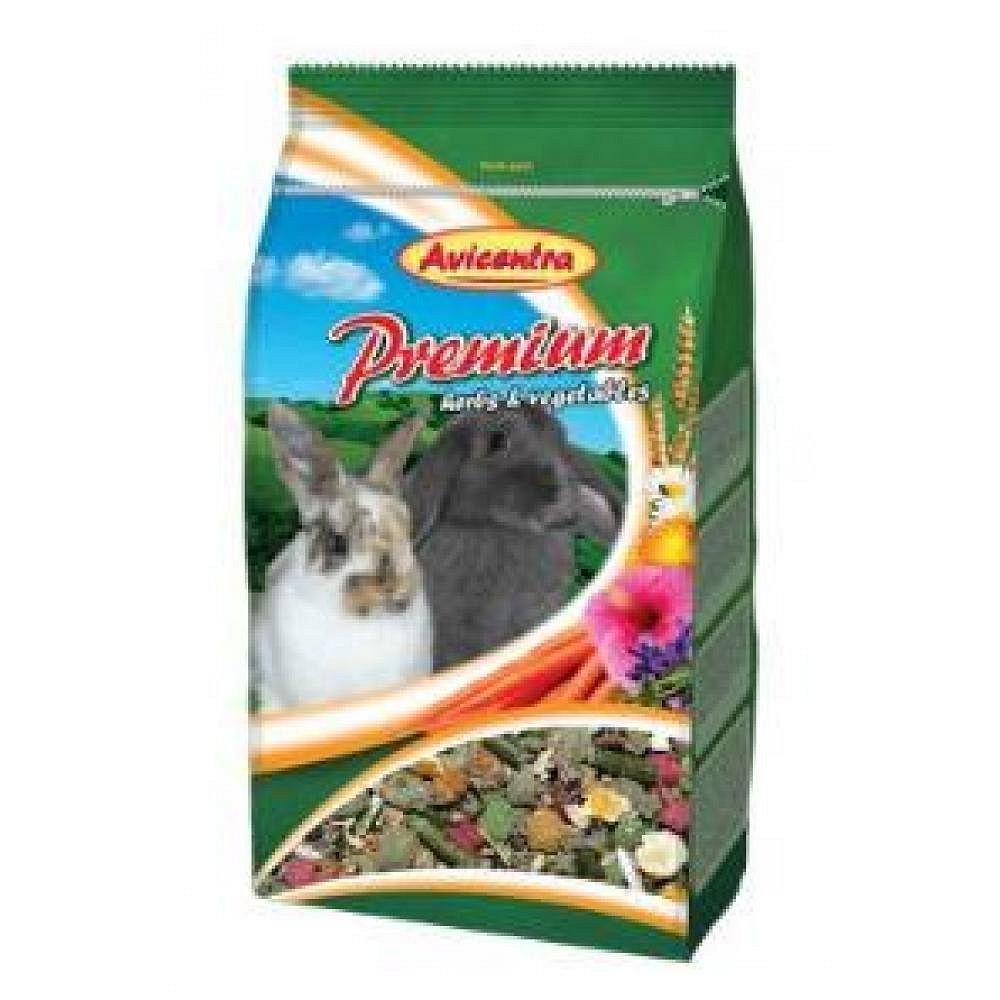 Avicentra Premium králík 850g