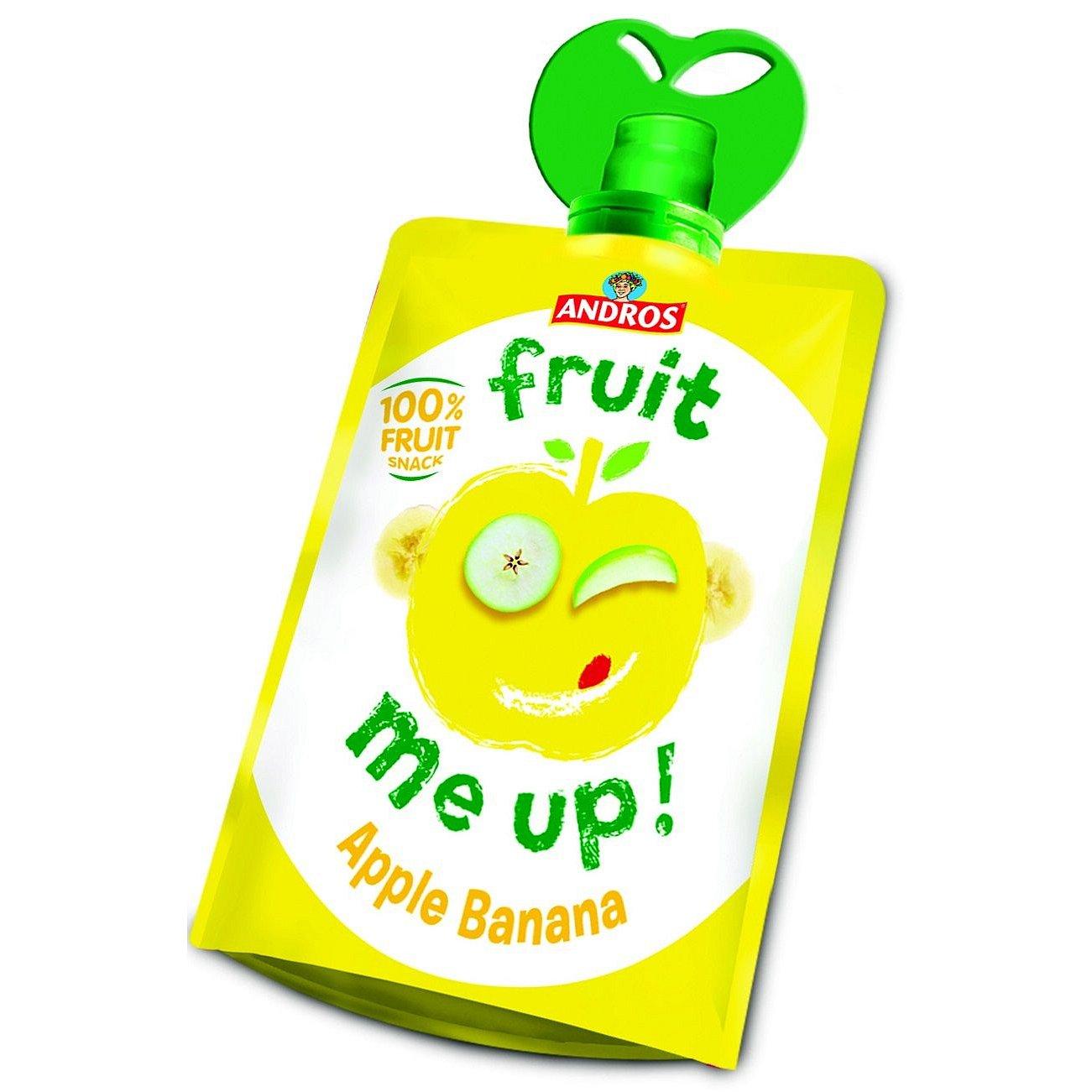 ANDROS Fruit Me Up 100% jablko-banán kapsička 90 g