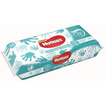 HUGGIES® Single All Over Clean (56)