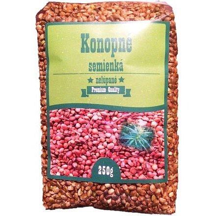 Konopná semínka neloupaná celé 250g SR