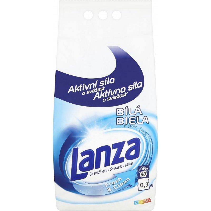 Lanza Fresh&Clean na bílé prádlo 6,3kg