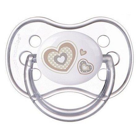 Šidítko 18m+ silikonové třešinka Newborn Baby