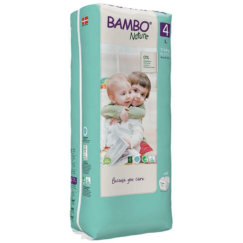 Bambo Nature 4 L 7-14kg 48ks