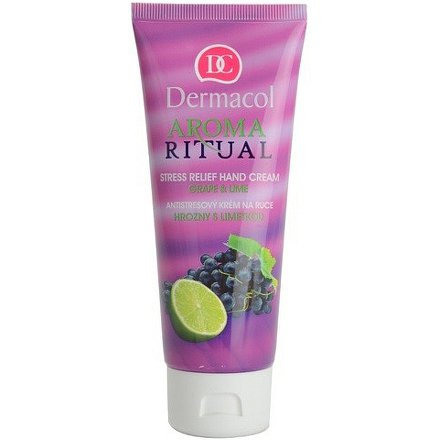 Dermacol Aroma Ritual krém na ruce hrozny a limetka 100ml