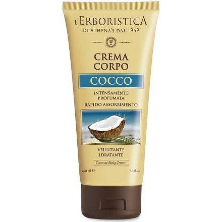 Erboristica Cocco Tělový krém s kokosovým olejem 200ml
