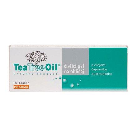 Tea Tree Oil čisticí gel na oblič.150ml(Dr.Müller)