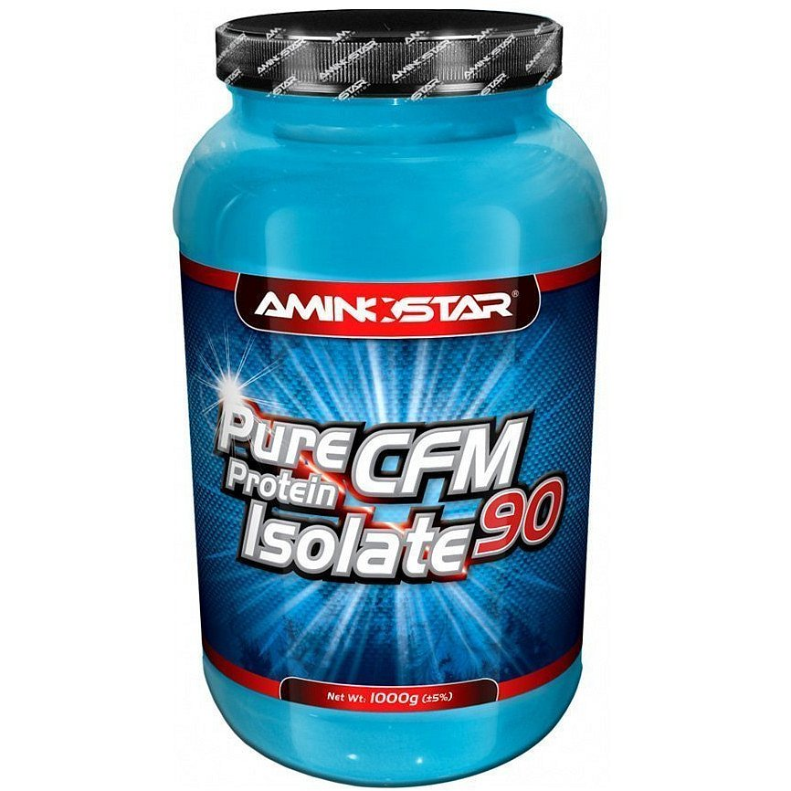 Aminostar Pure CFM Whey Protein Isolate 90, Čokoláda, 1000g