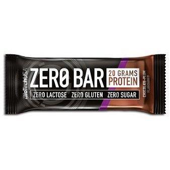 BiotechUSA ZERO Bar 20x50g Chocolate-Plum
