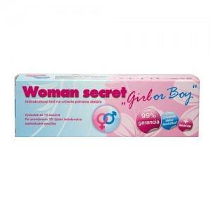 Woman secret test na zjištění pohlaví