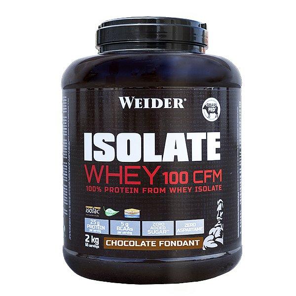 ISOLATE WHEY 100 CFM 100%, syrovátkový isolát, 2kg, Čokoládový fondán