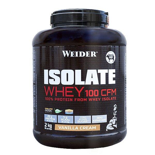 ISOLATE WHEY 100 CFM 100%, syrovátkový isolát, 2kg, Vanilka - cream