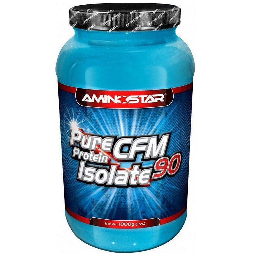 Aminostar Pure CFM Whey Protein Isolate 90, Jahoda, 2000g