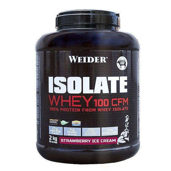 ISOLATE WHEY 100 CFM 100%, syrovátkový isolát, 2kg, Jahoda - ice cream