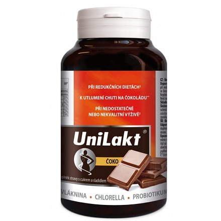 Unilakt čoko 300 g vlákn.tablety (cca 450 tablety )