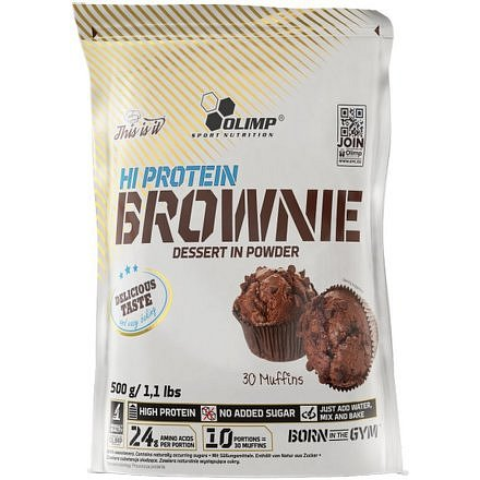 Olimp Hi Protein Brownie chocolate 500g