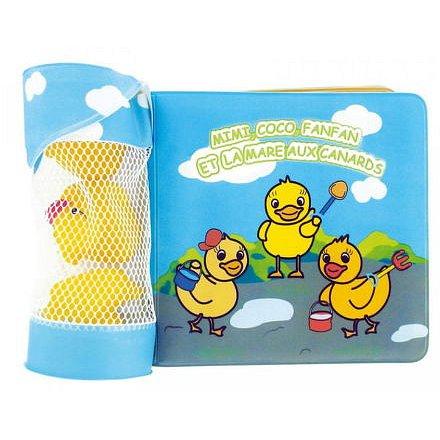 dBb 3 ks vodních hraček z kaučuku a koupací kniha