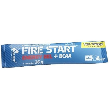 Olimp Fire Start Energy Gel + BCAA pomeranč 36g