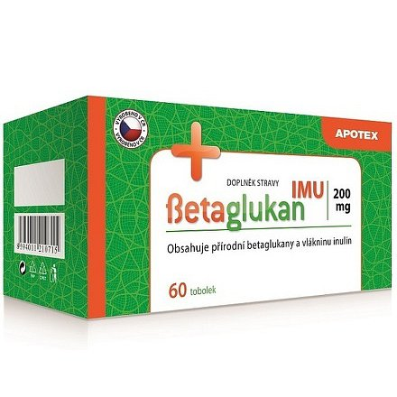 Betaglukan IMU 200 mg tobolky 60