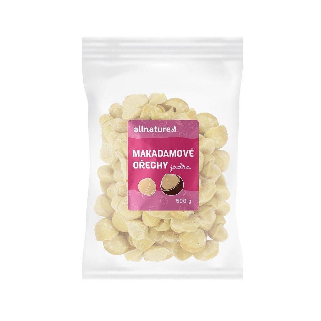 Allnature Makadamové ořechy 500 g