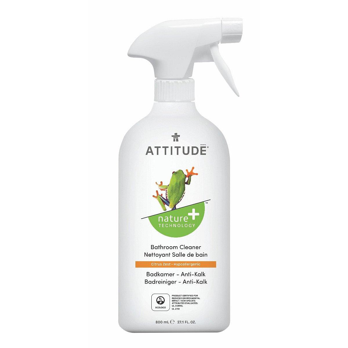 ATTITUDE Čistič na koupelny s vůní citronové kůry rozprašovač 800 ml
