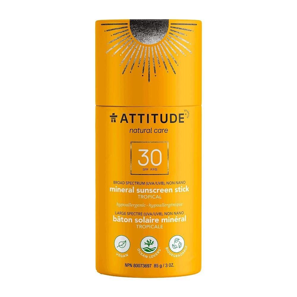 ATTITUDE 100% minerální ochranná tyčinka na celé tělo Tropical SPF30 85 g