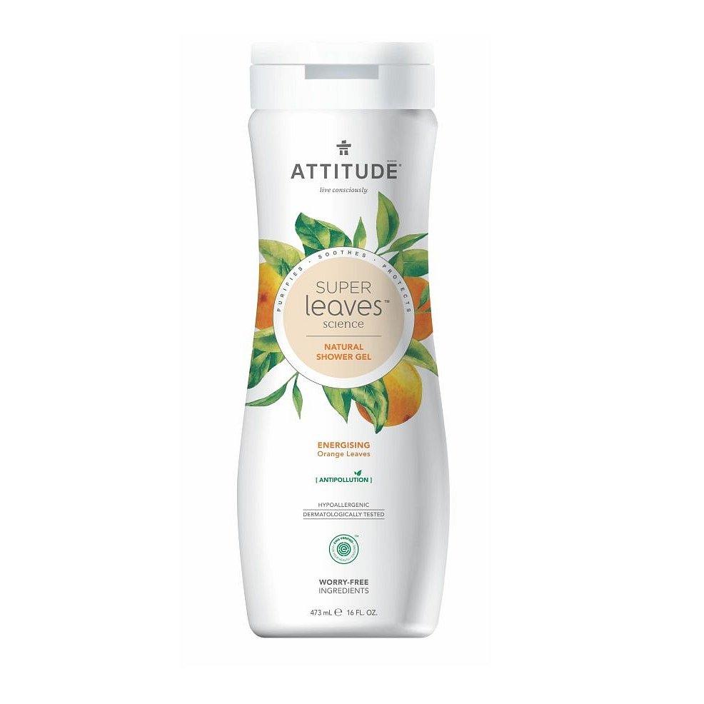 ATTITUDE Super leaves Přírodní tělové mýdlo pomerančové listy 473 ml