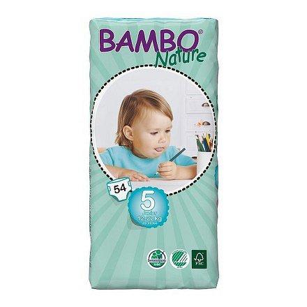BAMBO Nature Junior plenkové kalhotky 12-22 kg 54ks