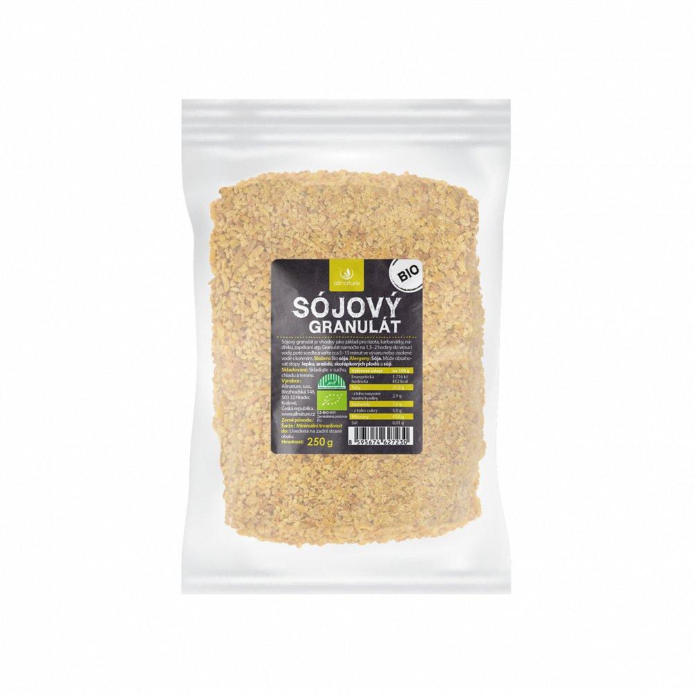 Allnature Sójový granulát bio 250 g