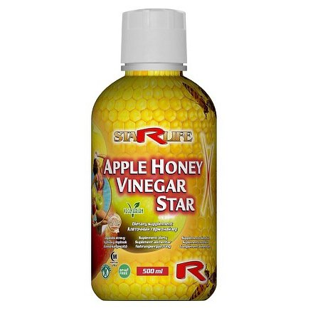 Apple Honey Vinegar Star 500 ml