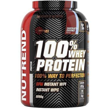 Nutrend 100% Whey Protein 2,25kg čokoláda-třešeň