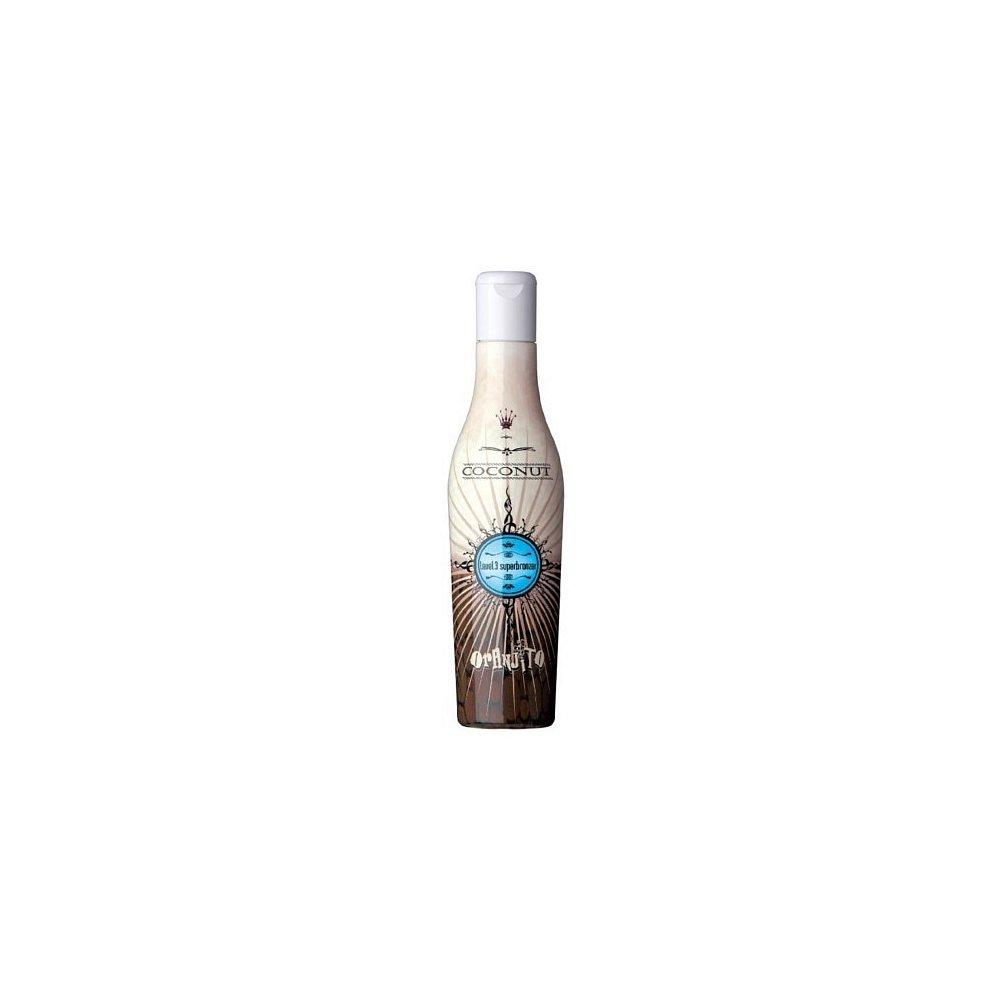 ORANJITO Opalovací mléko do solária Kokos Level 3 (Coconut Superbronzer) 200 ml