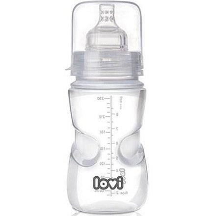 Samosterilizující láhev LOVI 250ml 0% BPA Super vent