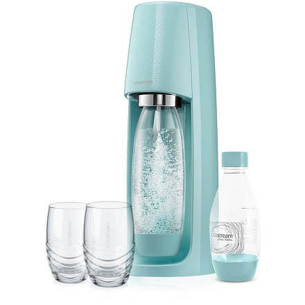 SodaStream Spirit Modrý výrobník perlivé vody