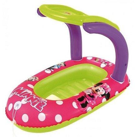 Dětský nafukovací člun se stříškou Best Way Minnie