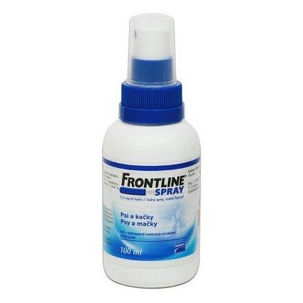 Frontline antiparazitní sprej pro psy a kočky 100ml