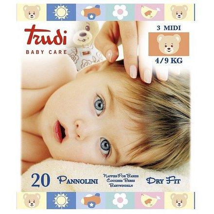 Trudi Dry Fit Dětské pleny Medium 4-9kg 20ks